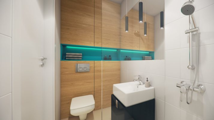 MINI apartament typu STANDARD- wizualizacja 3